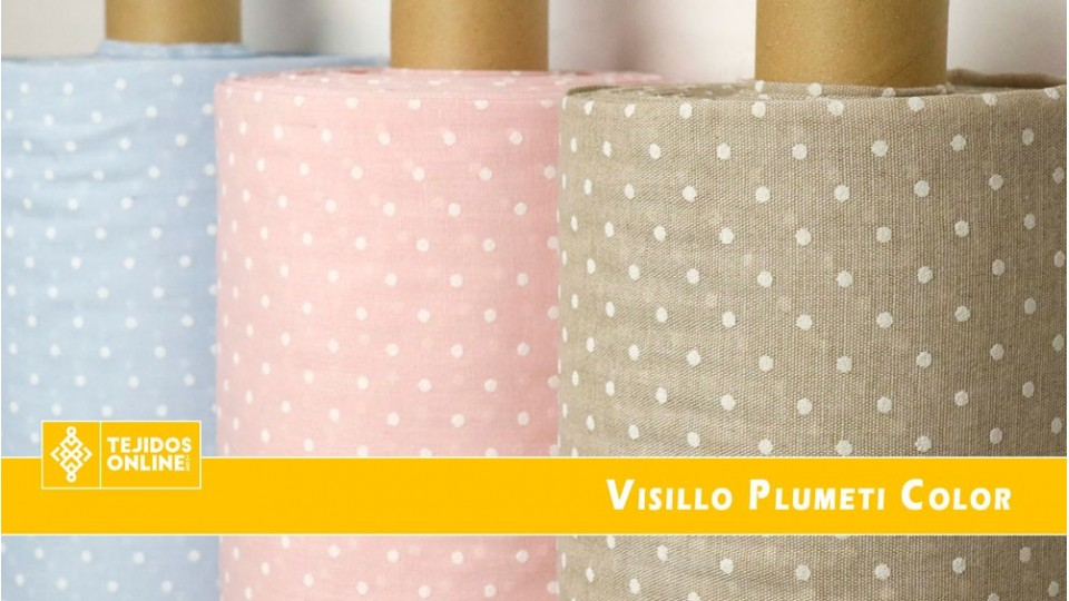 Visillo Plumeti Color