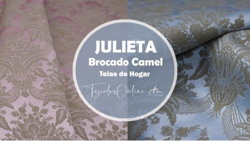 Brocados Julieta Camel